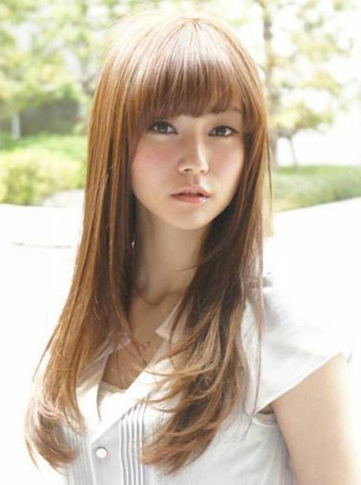 Layered Hair Asian 2018 Popular Long Layered Japanese Hairstyles Intended For Long Layered Japanese Hairstyles (View 4 of 25)