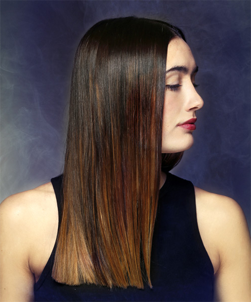 Layered Hair, Razor Cuts And One Length Cuts Intended For One Length Long Haircuts (View 3 of 25)