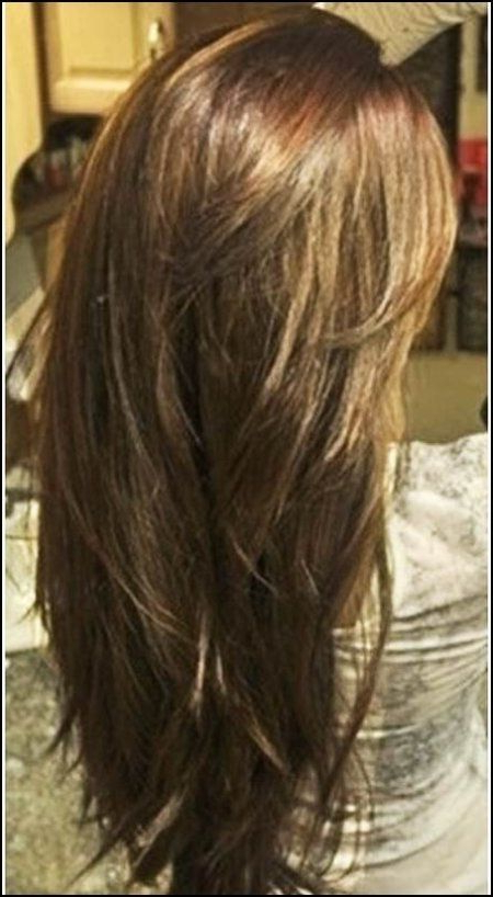 Layered Haircuts For Long Thick Hair Back View Long Layered Hair With Long Hairstyles Layers Back View (View 12 of 25)