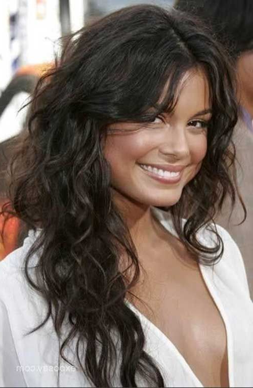 Layered Haircuts For Wavy Hair 20 | Feelin' Sexy | Curly Hair Styles Pertaining To Wavy Curly Long Hairstyles (View 8 of 25)