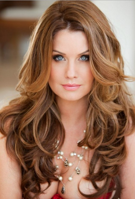 Layered Hairstyles For Long Hair Round Face Inside Long Haircuts For Round Faces And Thin Hair (View 6 of 25)