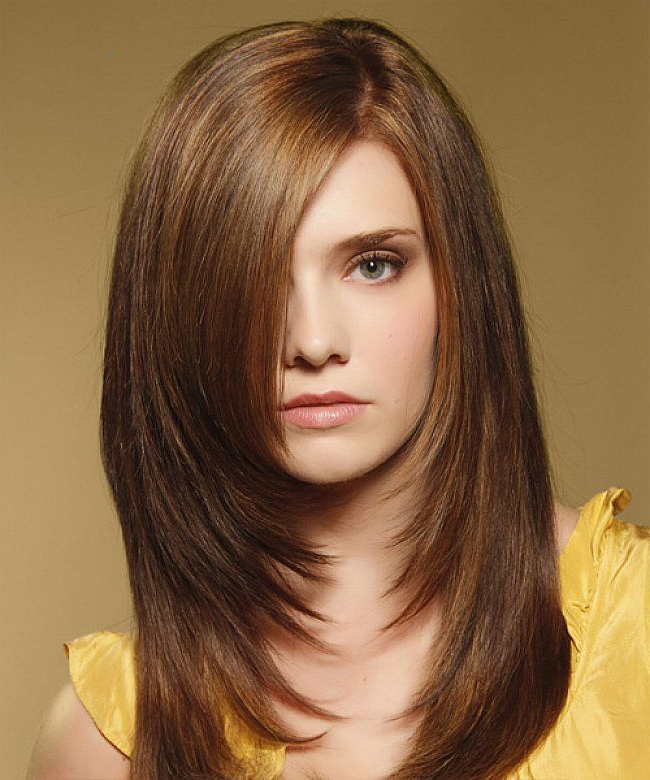 Layered Hairstyles For Long Hair With Side Fringe Throughout Long Hairstyles Layered In Front (View 12 of 25)