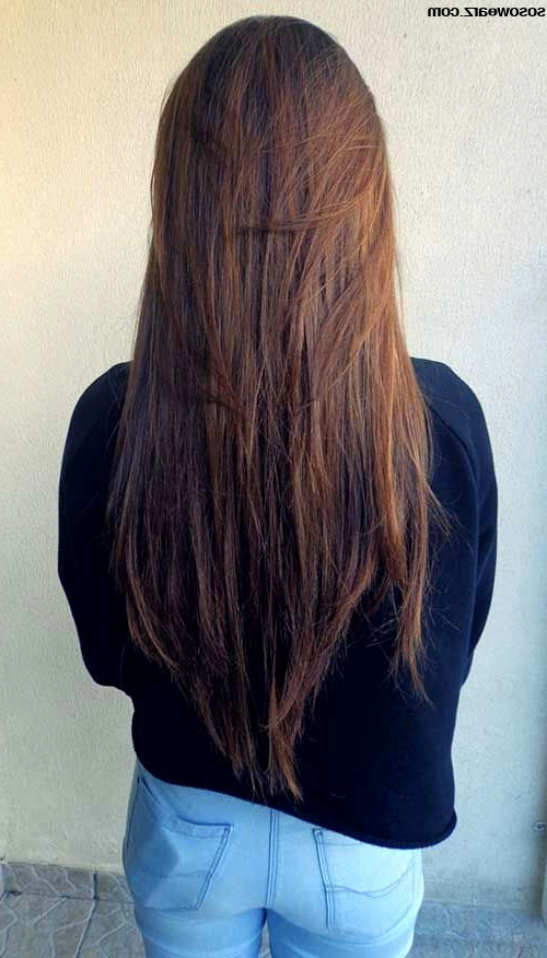 Layered Long Straight Hair Ideas   Soswearz Intended For Long Hairstyles Layered Straight (View 13 of 25)