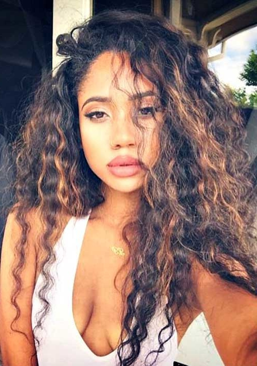 Let's Know How To Maintain Your Long Naturally Curly Hairstyles For Long Hairstyles Naturally Curly Hair (View 4 of 25)