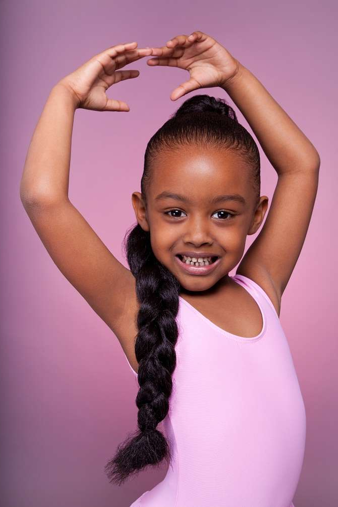 Little Black Girl Hairstyles | 30 Stunning Kids Hairstyles Intended For Long Hairstyles For Black Girls (View 19 of 25)