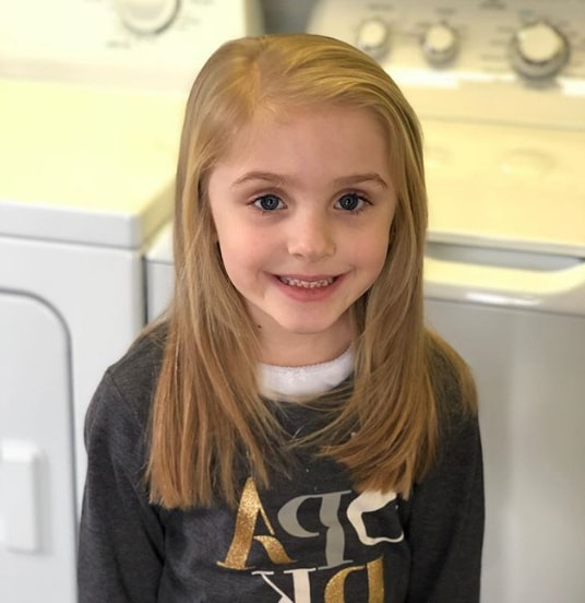 Little Girl Haircuts 2019 In Long Hairstyles With Angled Swoopy Pieces (View 25 of 25)