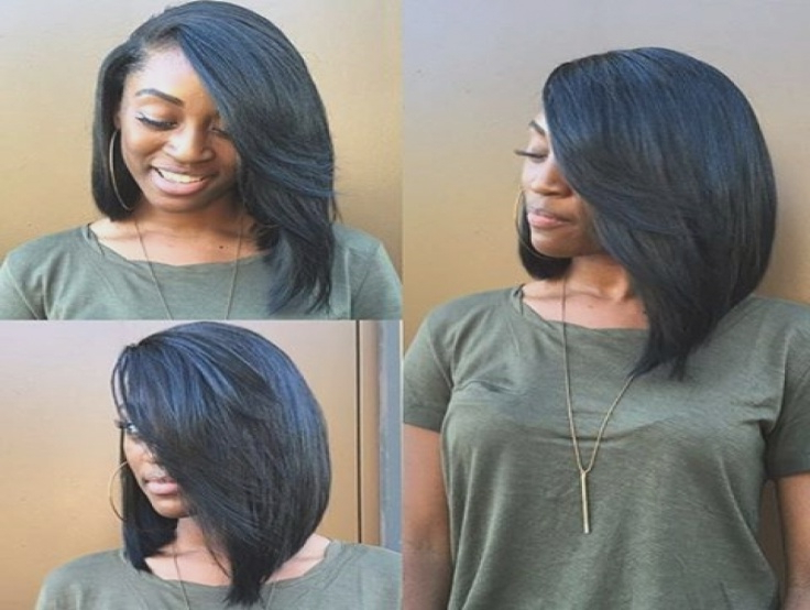 Long Bob Hairstyles Pinterest 1000 Ideas About Long Bob Weave On Throughout Long Bob Hairstyles With Weave (View 8 of 25)