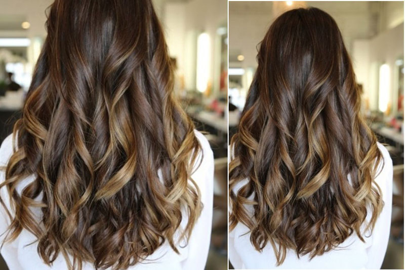 Long, Curls Hairstyles Back View: Trendy Haircuts – Lifob Inside Long Hairstyles Front And Back View (View 9 of 25)