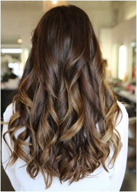 Long, Curls Hairstyles Back View: Trendy Haircuts – Popular Haircuts Throughout Long Hairstyles Front And Back View (View 5 of 25)