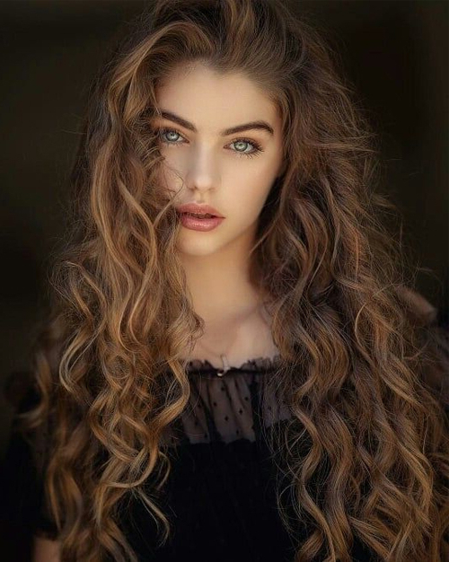 Long Curly Hairstyles Are One Of The Most Desired And Beautiful For Beautiful Long Curly Hairstyles (View 5 of 25)