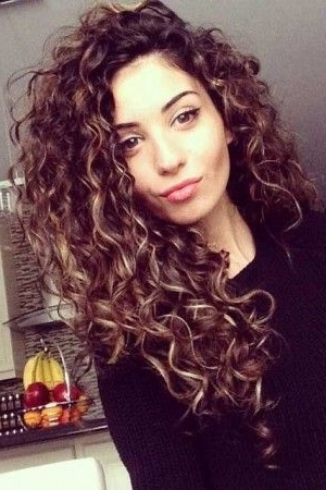 Long Curly Hairstyles – Short And Curly Haircuts Regarding Long Curly Hairstyles (View 8 of 25)