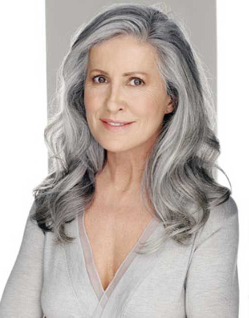 Long Grey Hairstyles 20 Hairstyles For Older Women | Hairstyles Ideas With Long Hairstyles On Older Women (View 17 of 25)