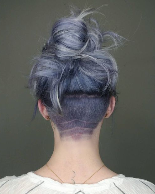 Featured Photo of Long Hairstyles Shaved Underneath