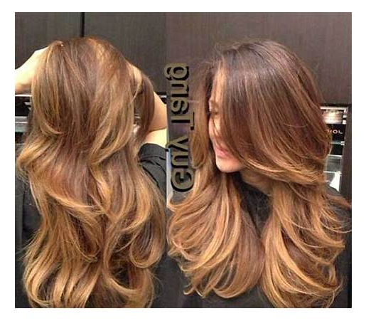 Long Hair Short Layers With 2019 With Regard To Long Haircuts With Short Layers (View 11 of 25)