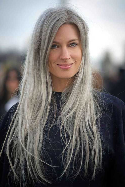 Long Hair Styles For Older Women | Beautiful Advanced Age In 2019 Regarding Hair Styles For Older Women With Long Hair (View 16 of 25)