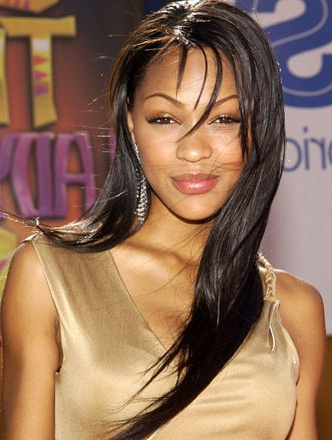 Long Hair Style's : Meagan Good Hairstyles Throughout Meagan Good Long Hairstyles (View 22 of 25)