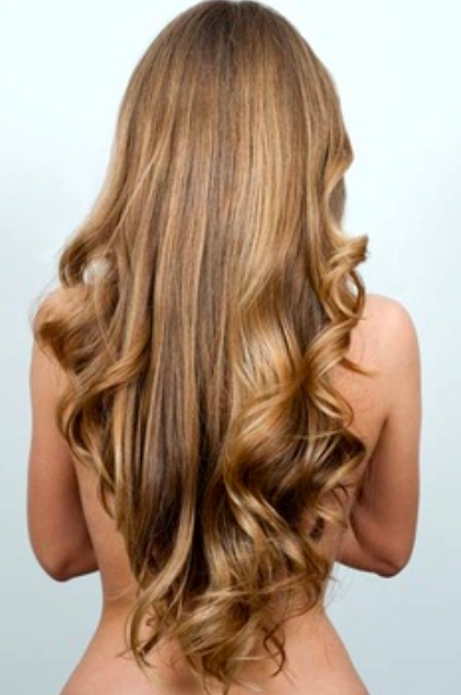 Long Hair With A V Shape Cut At The Back – Women Hairstyles For Short Obvious Layers Hairstyles For Long Hair (View 9 of 25)