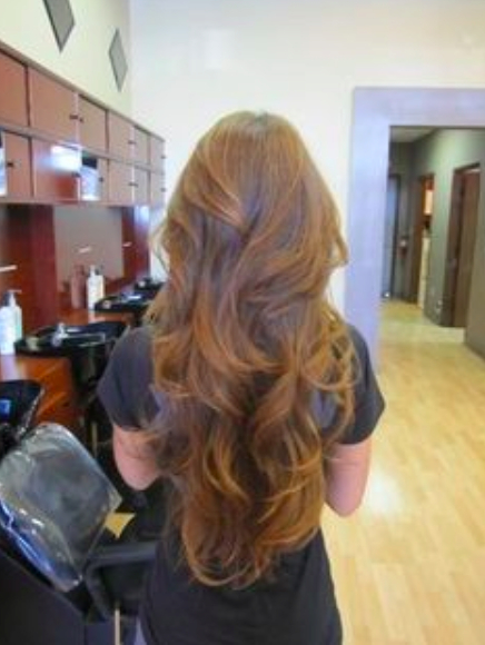 Long Hair With A V Shape Cut At The Back – Women Hairstyles Throughout Layers For Super Long Hairstyles (View 22 of 25)