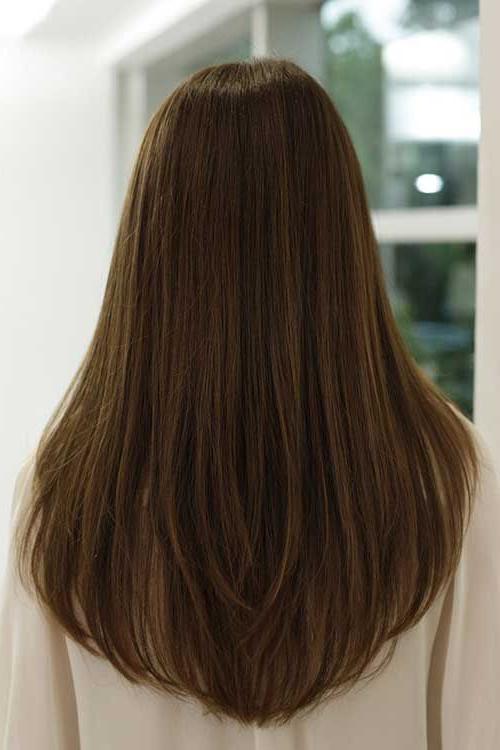 Long Haircuts For Women Back View – Google Search | Hair Cut | Hair Regarding Classy Layers For U Shaped Haircuts (View 7 of 25)