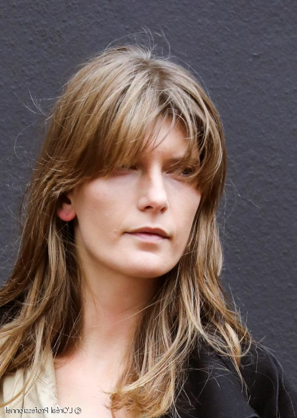 Long Haircuts With Side Bangs: A Classic, Elegant Cut Within Long Haircuts With Bangs And Layers (View 24 of 25)