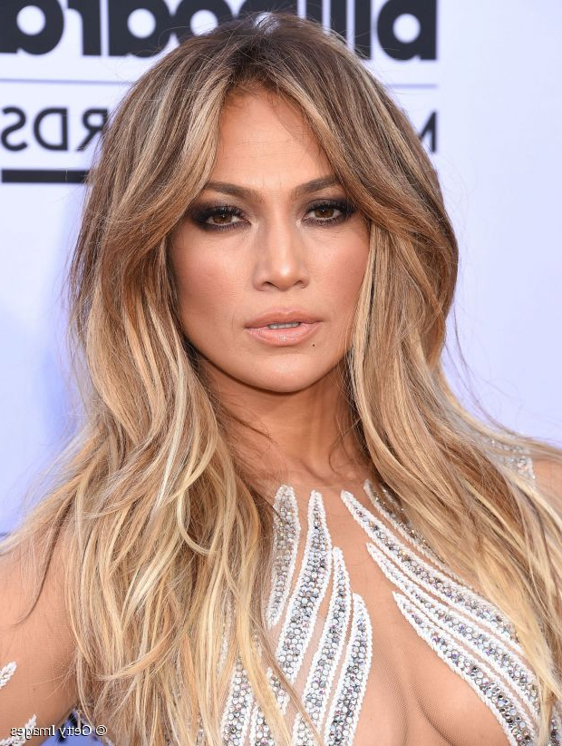 Long Hairstyle Ideas: Jennifer Lopez's Voluminous Center Part With Regard To Long Hairstyles Jennifer Lopez (View 13 of 25)