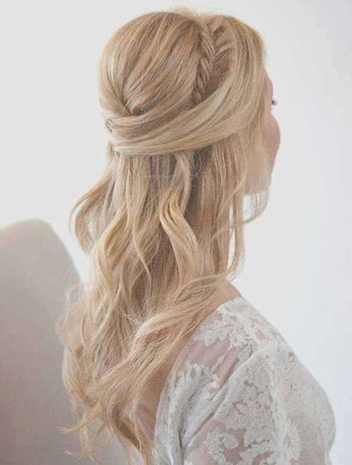 Long Hairstyles : Best Bridesmaid Updo Hairstyles For Long Hair Home Intended For Long Hairstyles At Home (View 23 of 25)
