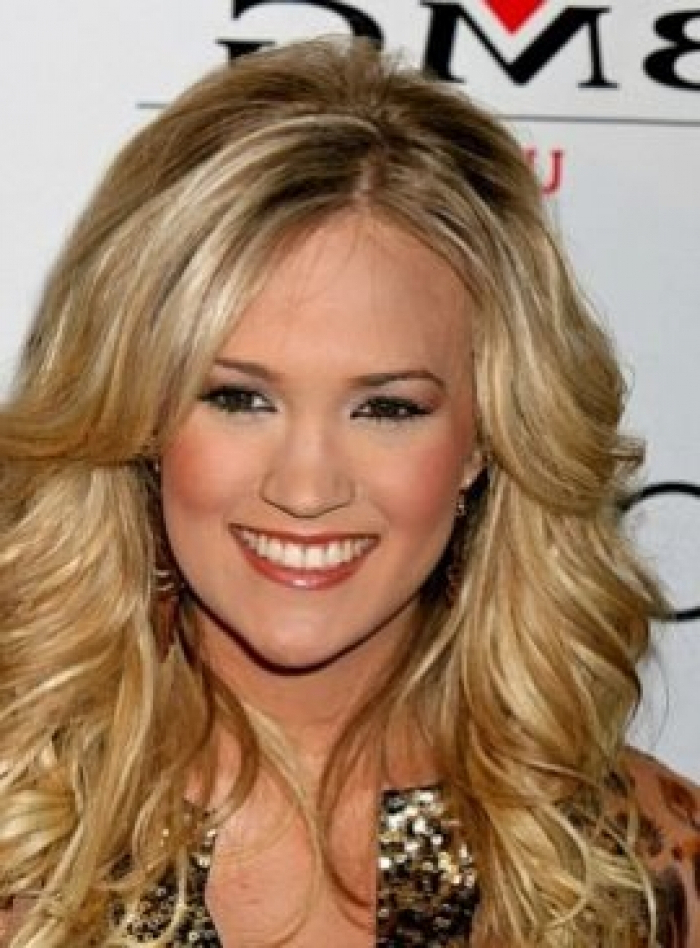 Long Hairstyles Carrie Underwood And Carrie Underwood Long Curly Within Carrie Underwood Long Hairstyles (View 23 of 25)