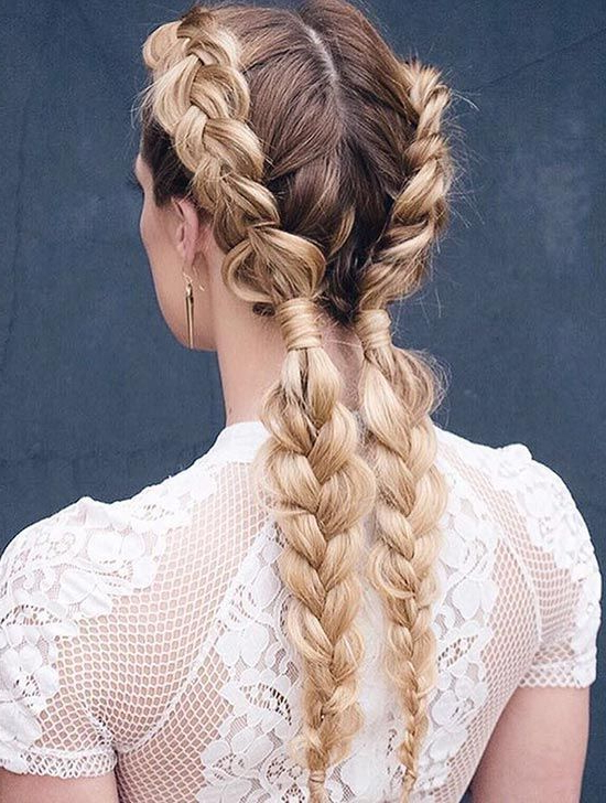 Long Hairstyles For 2019 – All The Long Hair Inspiration You Need In Long Hairstyles Plaits (View 2 of 25)
