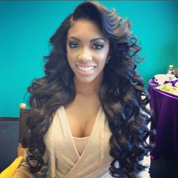 Long Hairstyles For Black Women, Best African American Long Hair For Her In Long Hairstyles Weave (View 20 of 25)