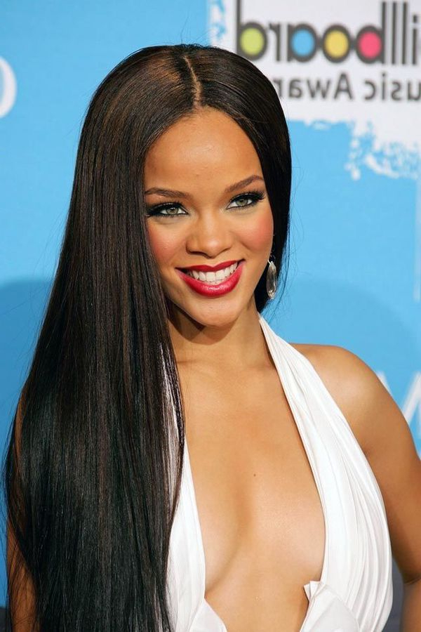 Long Hairstyles For Black Women, Best African American Long Hair For Her Throughout Cute Long Hairstyles For Black Women (View 19 of 25)