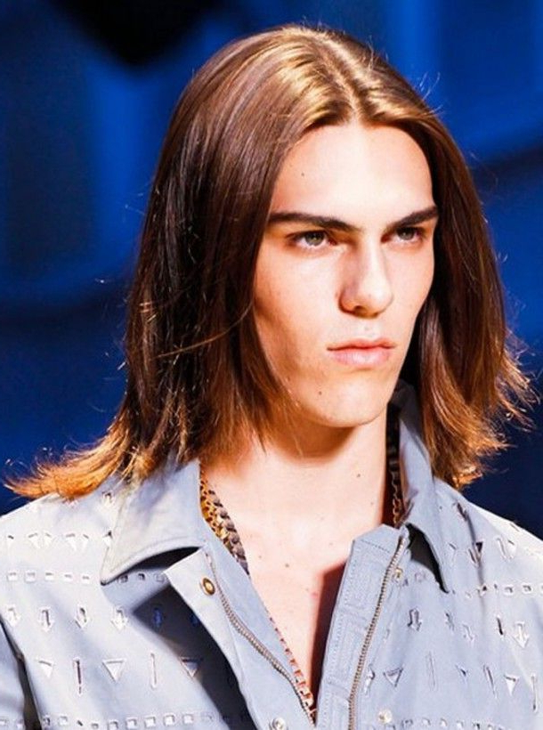 Long Hairstyles For Men With Fine Straight Hair ~ Mens Long Regarding Long Hairstyles Fine Straight Hair (View 25 of 25)