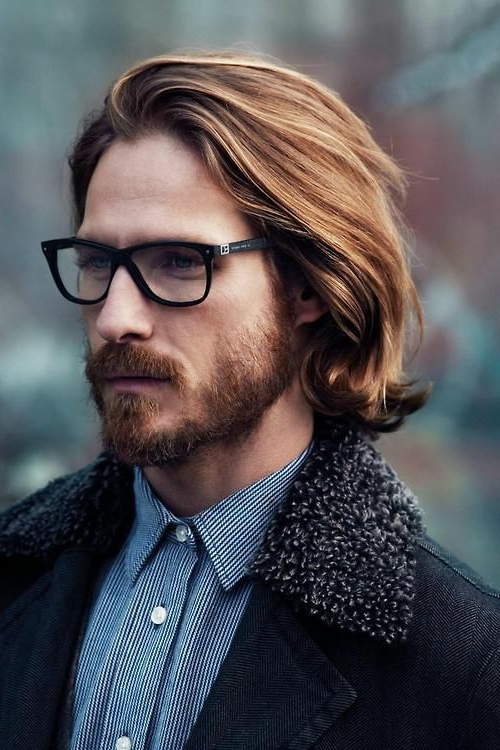 Long Hairstyles For Men With Glasses? Expert Advice And Pictures Within Long Hairstyles With Glasses (View 19 of 25)