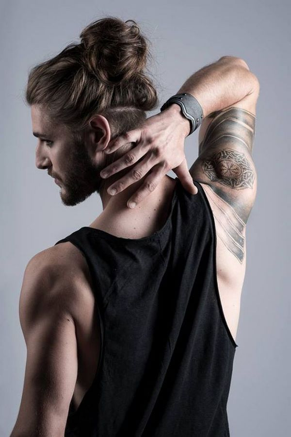 Long Hairstyles For Men With Knots And Buns #cool #hairstyles #men Intended For Long Hairstyles Knot (View 7 of 25)