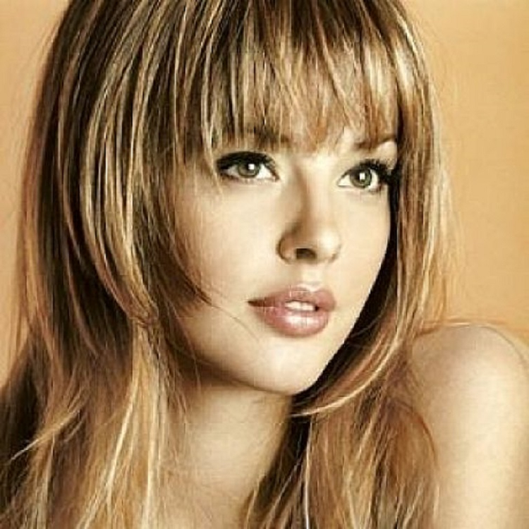 Long Hairstyles For Round Faces 2015 Inside Long Hairstyles For Women With Round Faces (View 20 of 25)
