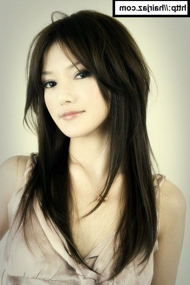 Long Hairstyles: Long Layered Hairstyles Asian, Long Layered Within Asian Long Hairstyles (View 4 of 25)