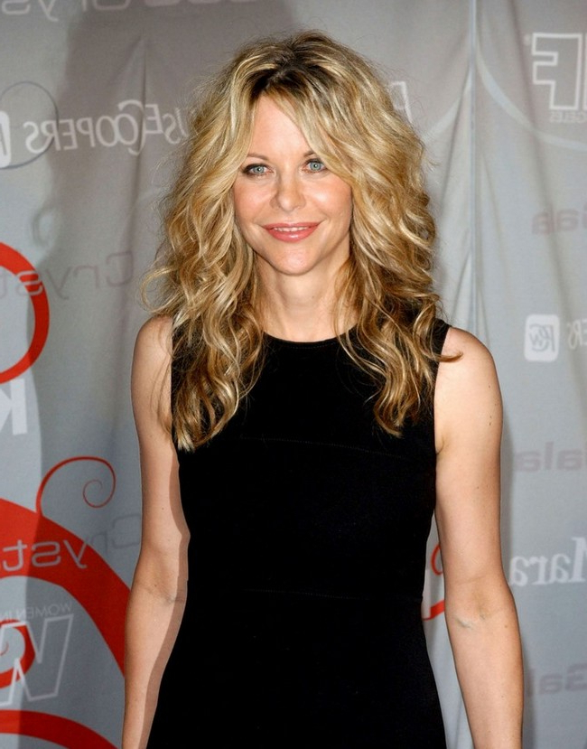 Long Hairstyles Of Meg Ryan Blonde Curls • For Meg Ryan Long Hairstyles (View 9 of 25)