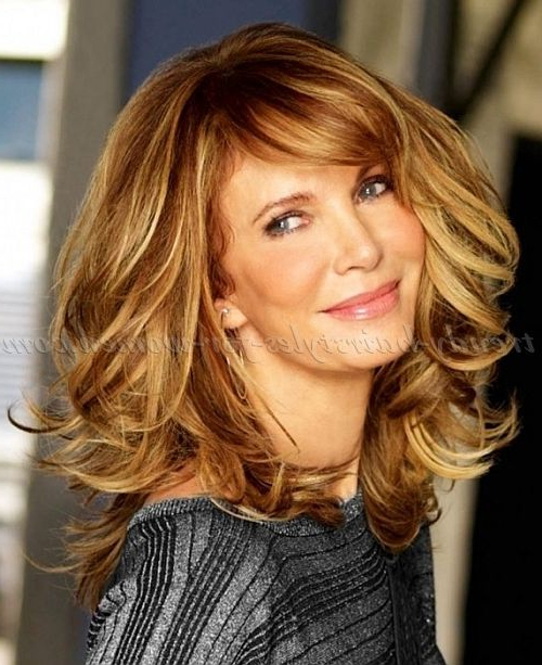 Long Hairstyles Over 50 – Jaclyn Smith Long Layered Haircut… | Just For Long Hairstyles At (View 19 of 25)