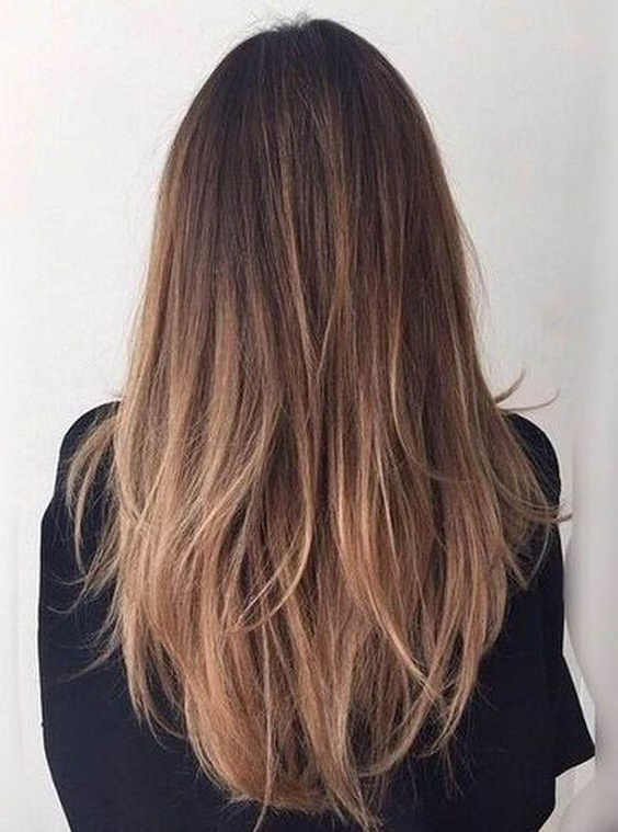 Long Hairstyles   Straight Hair Styles   Honey Caramel   Brunettes Regarding Long Hairstyles Straight (View 19 of 25)