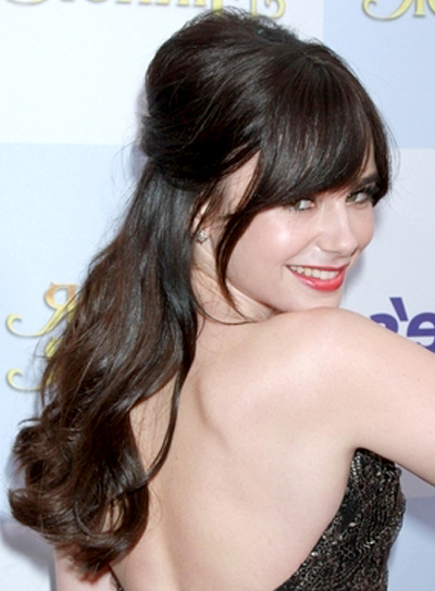 Long Half Updos With Bangs – Beauty Riot Throughout Updo For Long Hair With Bangs (View 25 of 25)