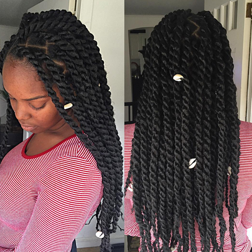 Long Kinky Twists 3 | African American Hairstyles Trend For Black With Regard To Long Kinky Hairstyles (View 16 of 25)