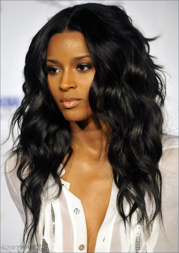 Long Layered Hair: 45 Best Long Haircuts With Layers (Trending In Pertaining To Long Layered Black Hairstyles (View 14 of 25)