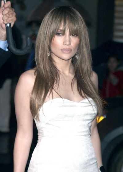 Long Layered Hair With Bangs | Jennifer Lopez Wearing A Sexy With Regard To Long Layered Hairstyles Jennifer Lopez (View 13 of 25)