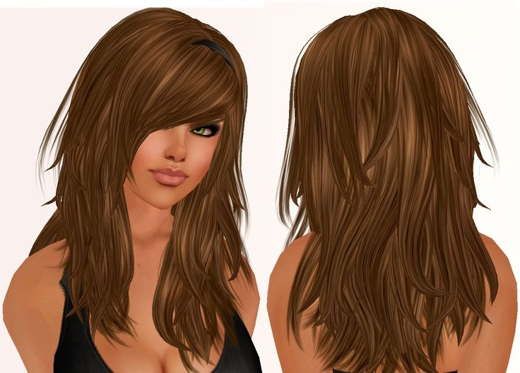 Featured Photo of Long Hair With Layers And Side Swept Bangs