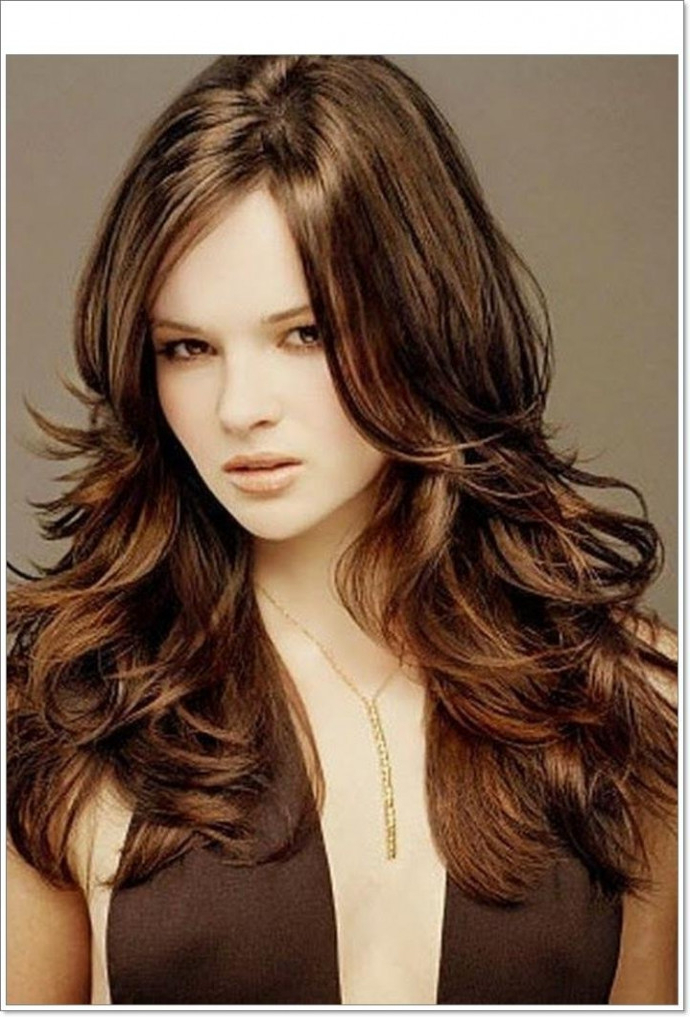 Long Layered Haircut For Long Hair 2018 Popular Chunky Layered With Chunky Layered Haircuts Long Hair (View 19 of 25)