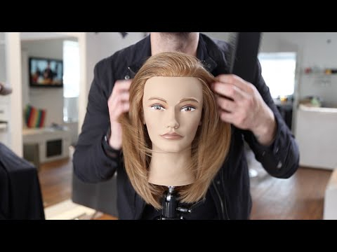 Long Layered Haircut Tutorial For Fine Hair | Matt Beck Vlog 35 Intended For Long Layered Haircuts For Fine Hair (View 18 of 25)