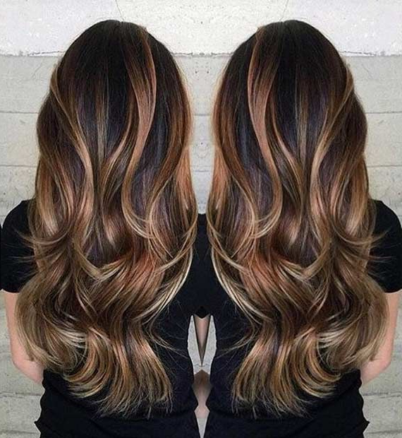Featured Photo of Balayage Hairstyles For Long Layers