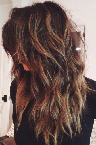 Long Layered Haircuts: 21 Best Long Layered Hairstyles Ideas | Ladylife For Edgy V Line Layers For Long Hairstyles (View 20 of 25)
