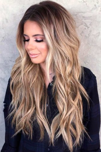 Long Layered Haircuts: 21 Best Long Layered Hairstyles Ideas   Ladylife Pertaining To Long Layered Waves Hairstyles (View 9 of 25)