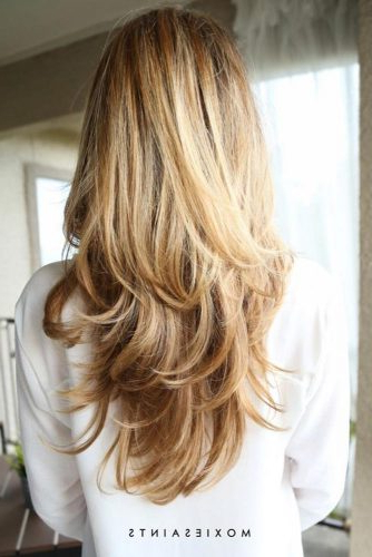 Long Layered Haircuts: 21 Best Long Layered Hairstyles Ideas | Ladylife Throughout Edgy V Line Layers For Long Hairstyles (View 21 of 25)