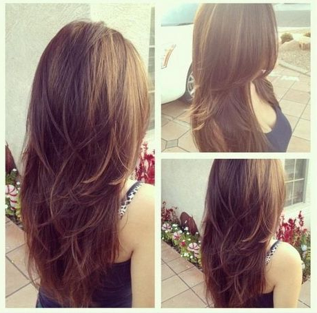 Featured Photo of Long Hairstyles Layers Back View